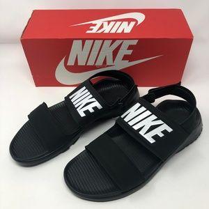 Nike Tanjun Sandal Womens-Black/White-Black-NIB!!!
